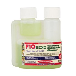 F10 SCXD Concentrated disinfectant/Cleanser 100ml