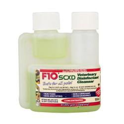 F10SCXD Disinfettante veterinario con detergente concentrato