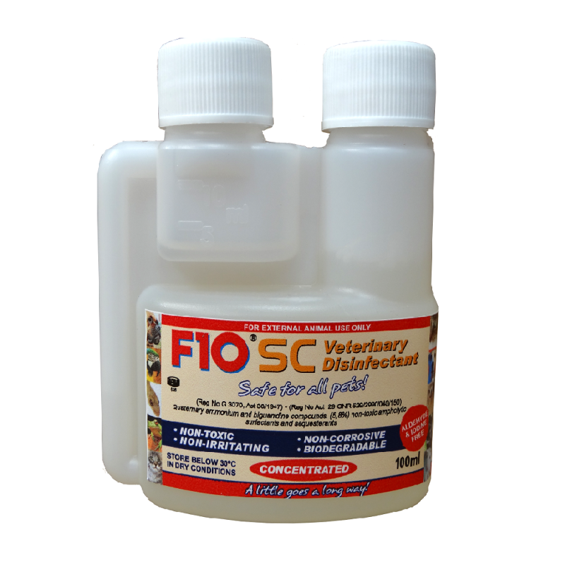 F10 SC Disinfettante veterinario concentrato