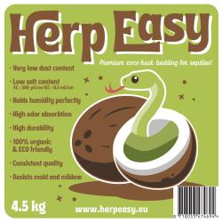 Herp Easy Fibra di cocco in chips pressata 4,5kg