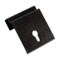 Placchetta per fissaggio portalampade con clip