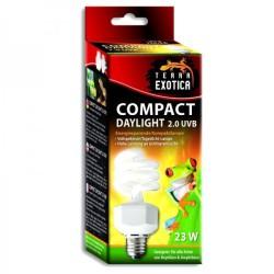 """Lampada UVB Terra Exotica 2% 23W compatta """"Daylight"""""""