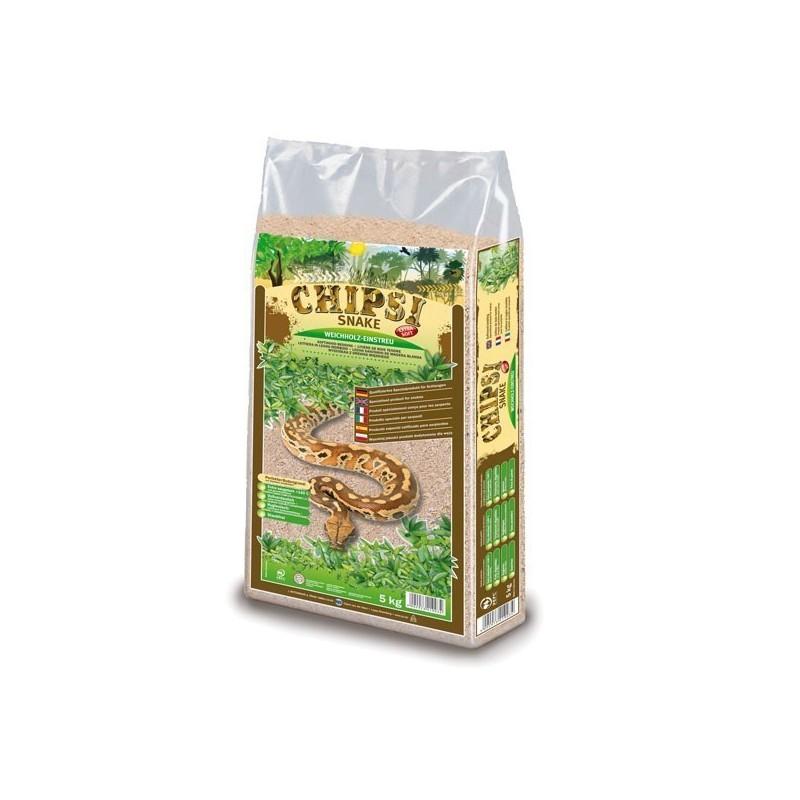 Chipsi Snake truciolo depolverato 5kg