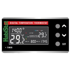 Habistat Digitale + timer termostato on/off