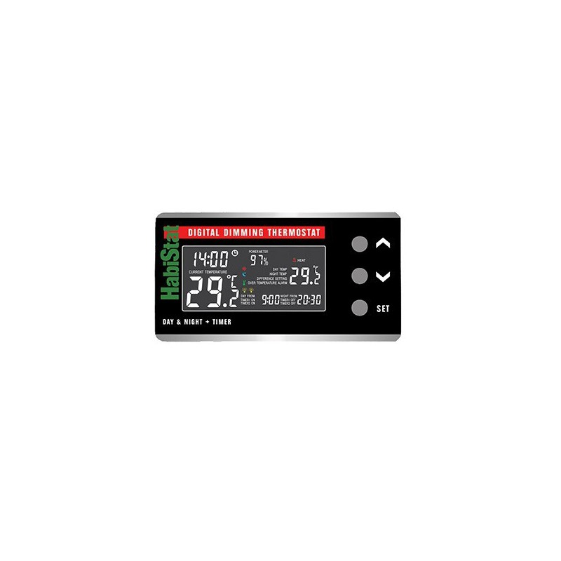Habistat Digitale Dimming Day/Night + timer termostato dimming