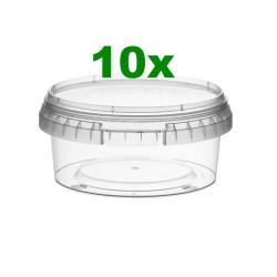 Contenitore ø11,8 x 5h - 300ml confezione da 10 pezzi
