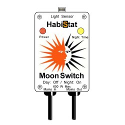 Habistat Moon Switch - sensore per accensione notturna